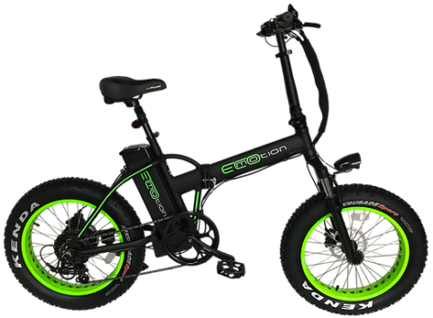 EcoMotion MINI Pro e-Fat tire e-bike